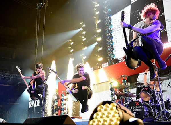 5 Seconds of Summer at USANA Amphitheater
