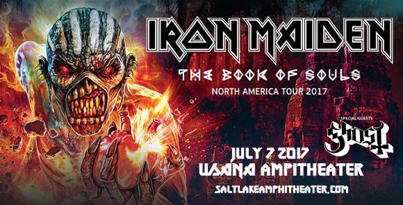 Iron Maiden & Ghost at USANA Amphitheater