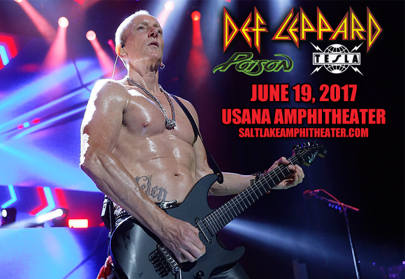 Def Leppard, Poison & Tesla  at USANA Amphitheater