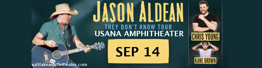Jason Aldean, Chris Young & Kane Brown  at USANA Amphitheater