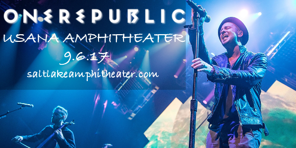 OneRepublic, Fitz and The Tantrums & James Arthur at USANA Amphitheater