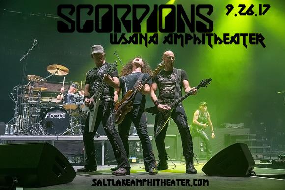 Scorpions & Megadeth at USANA Amphitheater