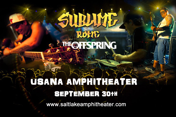 Sublime With Rome & The Offspring at USANA Amphitheater