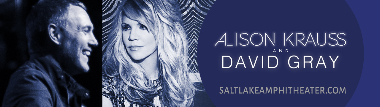 Alison Krauss & David Gray at USANA Amphitheater