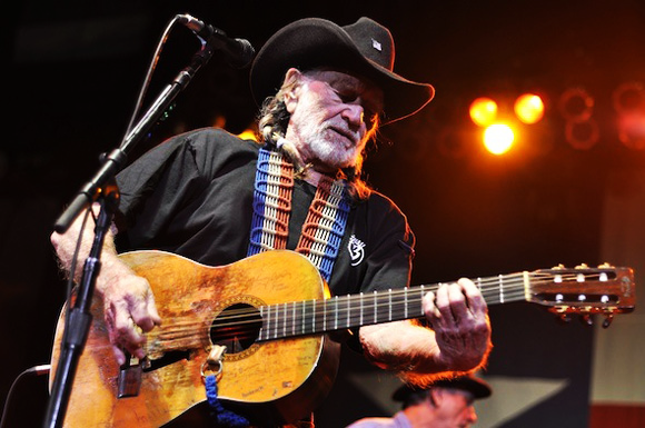 Willie Nelson at USANA Amphitheater