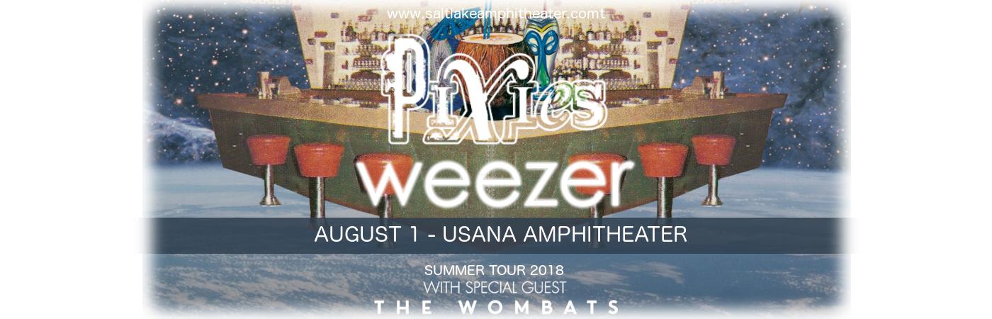 Weezer & Pixies at USANA Amphitheater