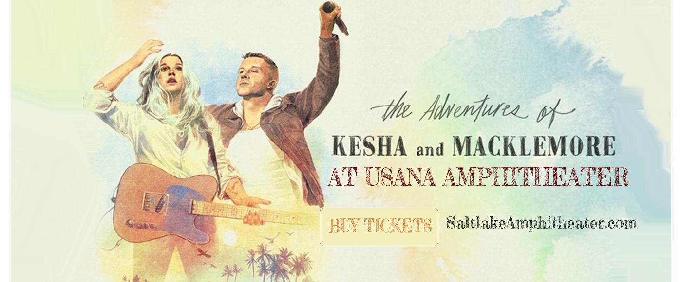 Kesha & Macklemore at USANA Amphitheater