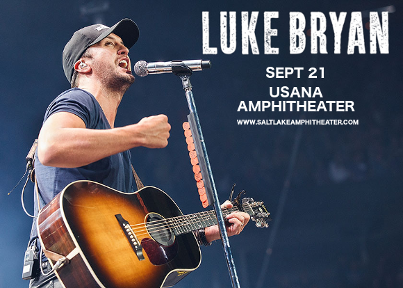 Luke Bryan, Jon Pardi & Morgan Wallen at USANA Amphitheater