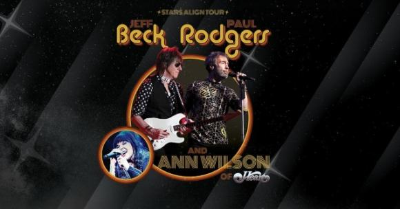 Jeff Beck, Paul Rodgers & Ann Wilson at USANA Amphitheater