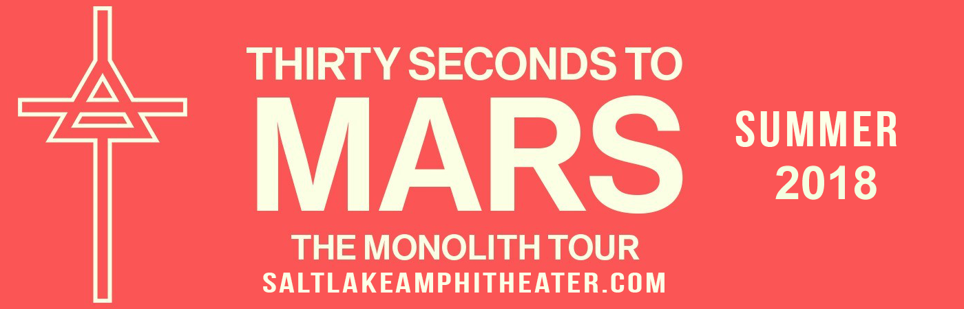 30 Seconds To Mars, Walk The Moon & K. Flay at USANA Amphitheater