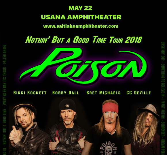 Poison & Cheap Trick at USANA Amphitheater