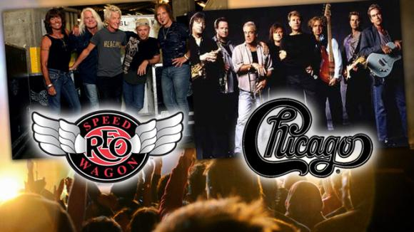 Chicago & REO Speedwagon at USANA Amphitheater