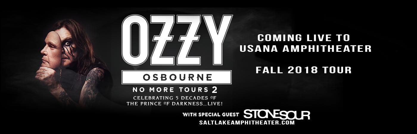 Ozzy Osbourne & Stone Sour at USANA Amphitheater