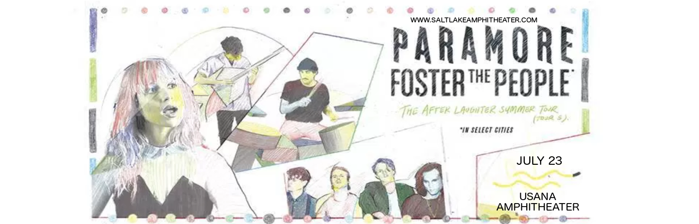 Paramore & Foster The People at USANA Amphitheater
