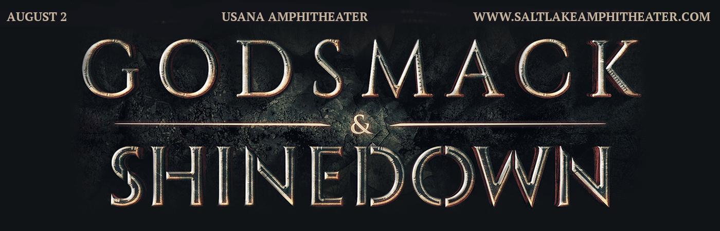 Shinedown & Godsmack at USANA Amphitheater