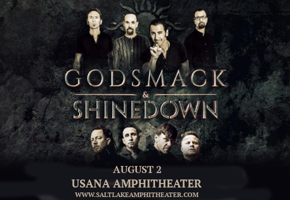 Shinedown & Godsmack at USANA Amphitheater