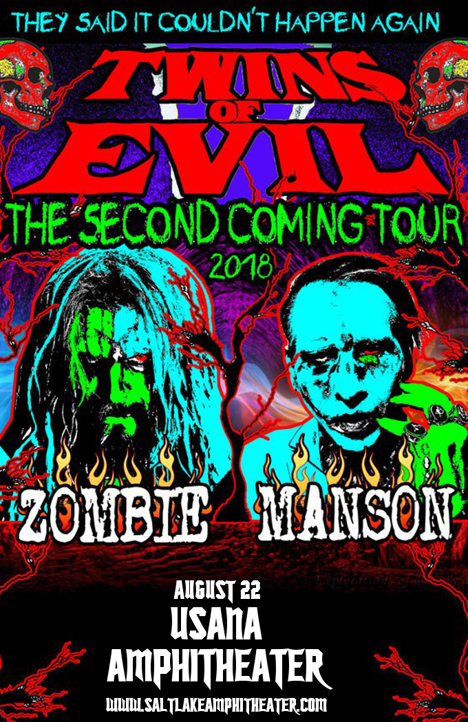 Rob Zombie & Marilyn Manson at USANA Amphitheater