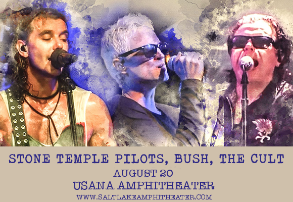The Cult, Stone Temple Pilots & Bush at USANA Amphitheater