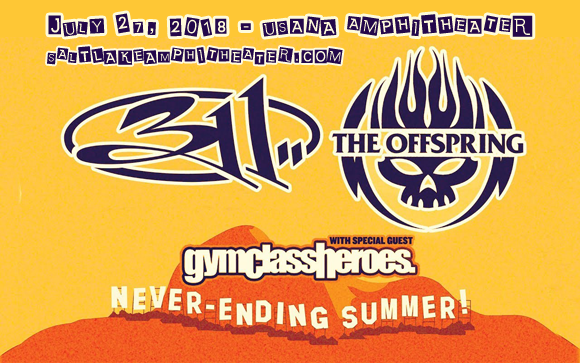 311 & The Offspring at USANA Amphitheater