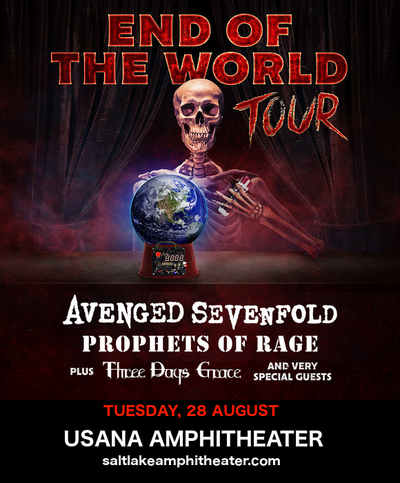 **CANCELLED** End of the World Tour: Avenged Sevenfold, Prophets of Rage & Three Days Grace at USANA Amphitheater
