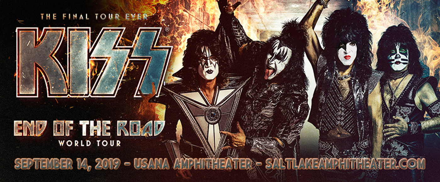 Kiss at USANA Amphitheater