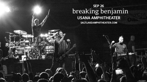 Breaking Benjamin, Chevelle & Three Days Grace at USANA Amphitheater