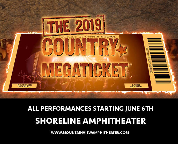 2019 Country Megaticket Tickets (Includes All Performances) at USANA Amphitheater