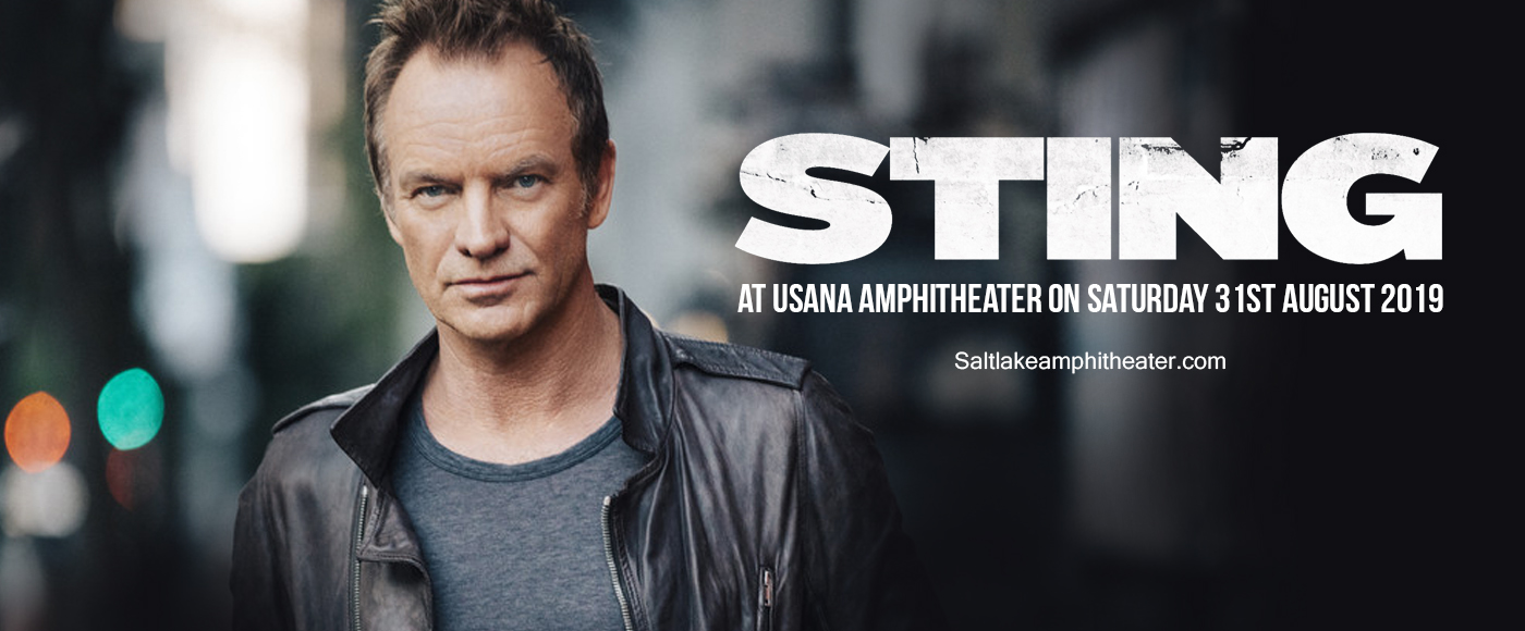 Sting at USANA Amphitheater