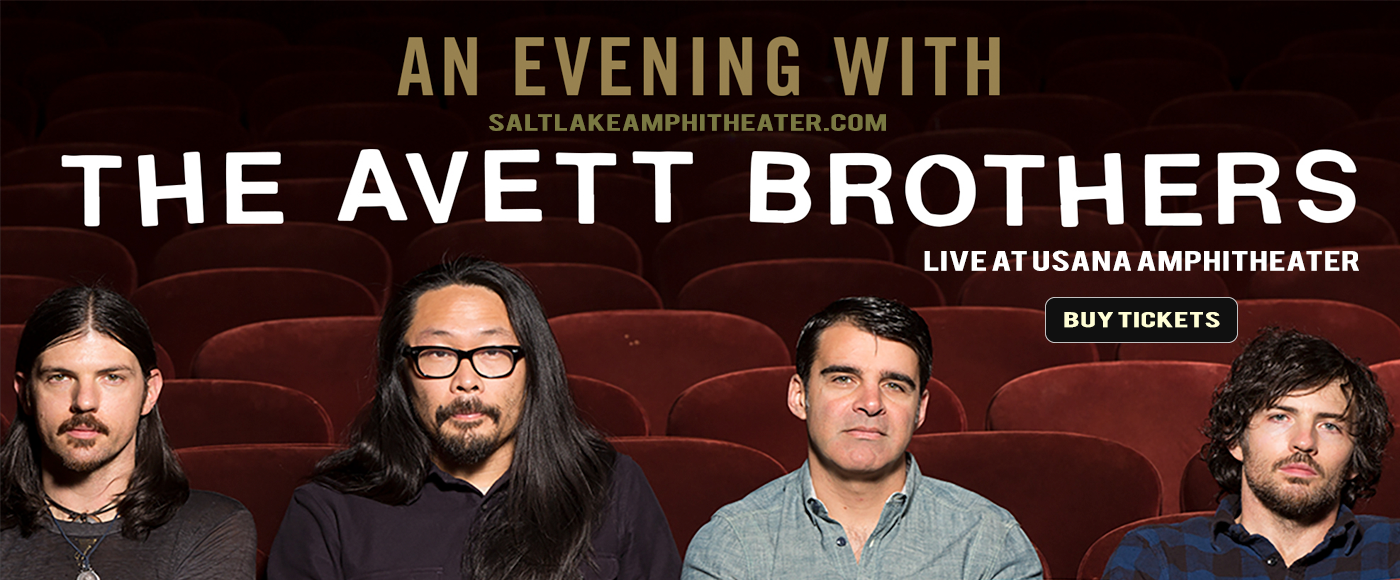 The Avett Brothers at USANA Amphitheater