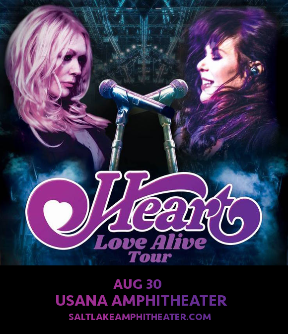 Heart, Joan Jett and the Blackhearts & Elle King at USANA Amphitheater
