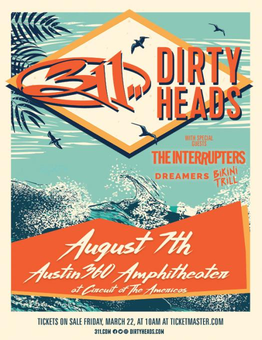 311 & The Dirty Heads at USANA Amphitheater