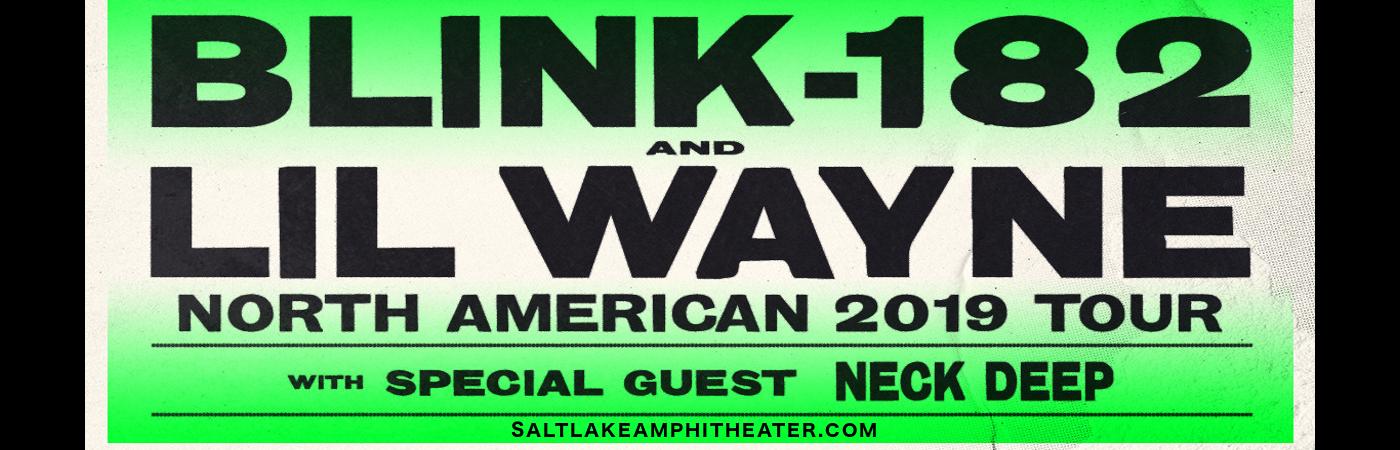 Blink 182 & Lil Wayne at USANA Amphitheater
