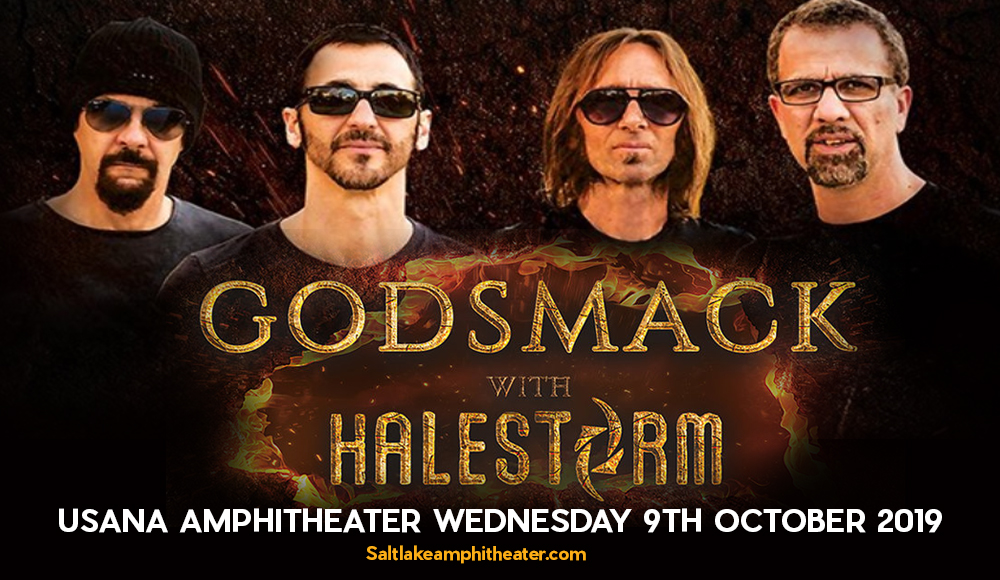 Godsmack & Halestorm at USANA Amphitheater