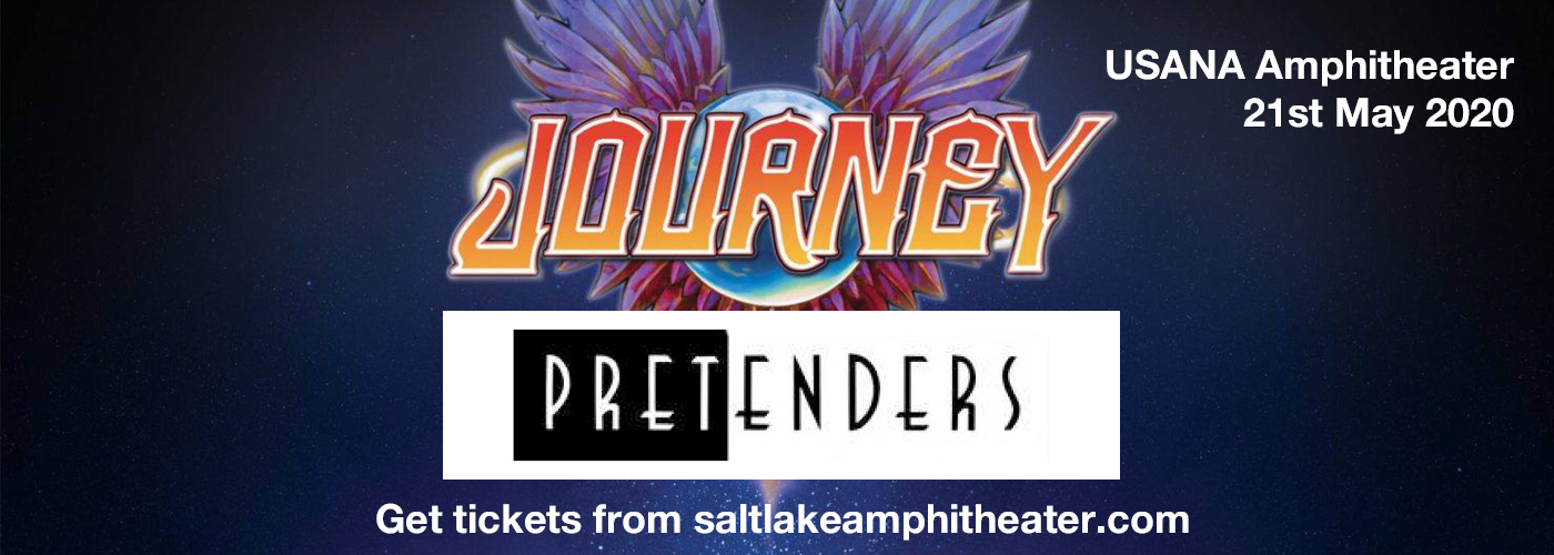 Journey & The Pretenders at USANA Amphitheater