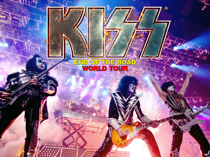 Kiss: the End of the Road World Tour at USANA Amphitheater