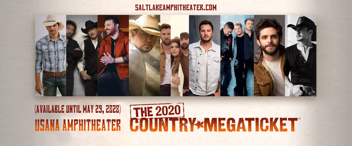 Country Megaticket (Includes Tickets To All Performances) at USANA Amphitheater