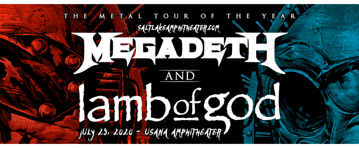 Megadeth & Lamb of God at USANA Amphitheater