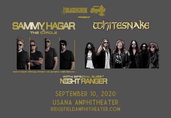 Sammy Hagar and the Circle & Whitesnake at USANA Amphitheater