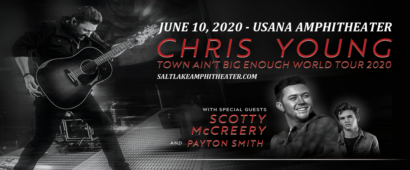 Chris Young, Scotty McCreery & Payton Smith at USANA Amphitheater