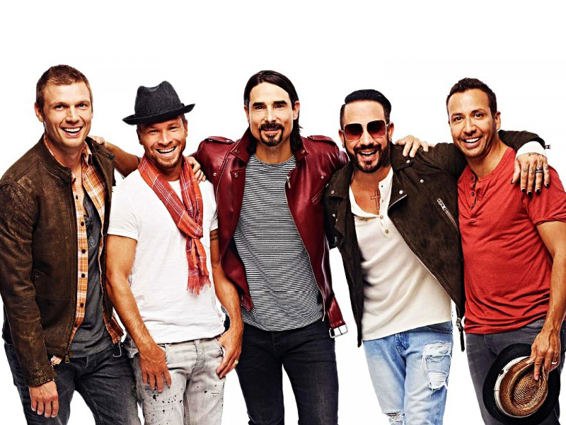 Backstreet Boys at USANA Amphitheater