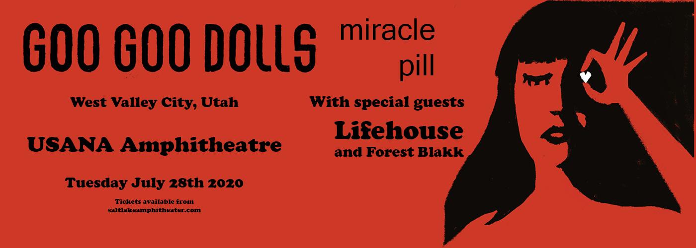 Goo Goo Dolls & Lifehouse [POSTPONED] at USANA Amphitheater