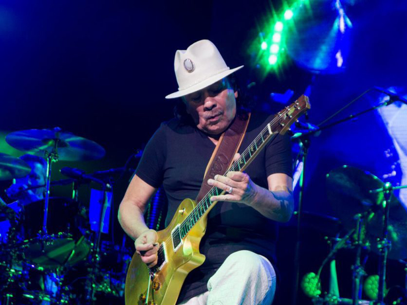 Santana & Earth, Wind and Fire [POSTPONED] at USANA Amphitheater