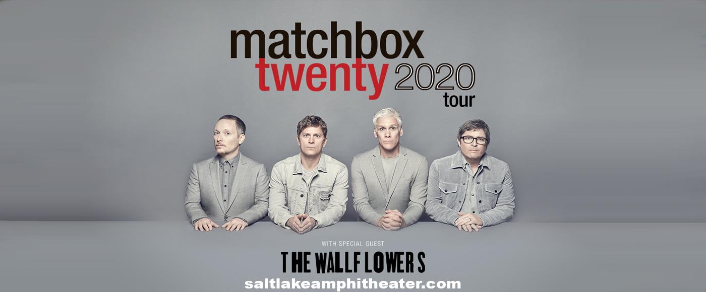 Matchbox Twenty & The Wallflowers [POSTPONED] at USANA Amphitheater