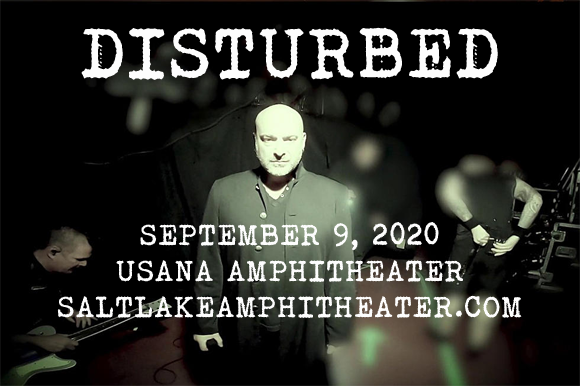 Disturbed, Staind & Bad Wolves at USANA Amphitheater