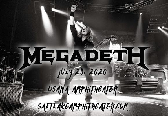 Megadeth & Lamb of God at USANA Amphitheater