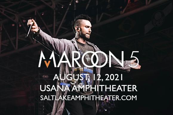 Maroon 5 Meghan Trainor Tickets 12th August Usana Amphitheatre