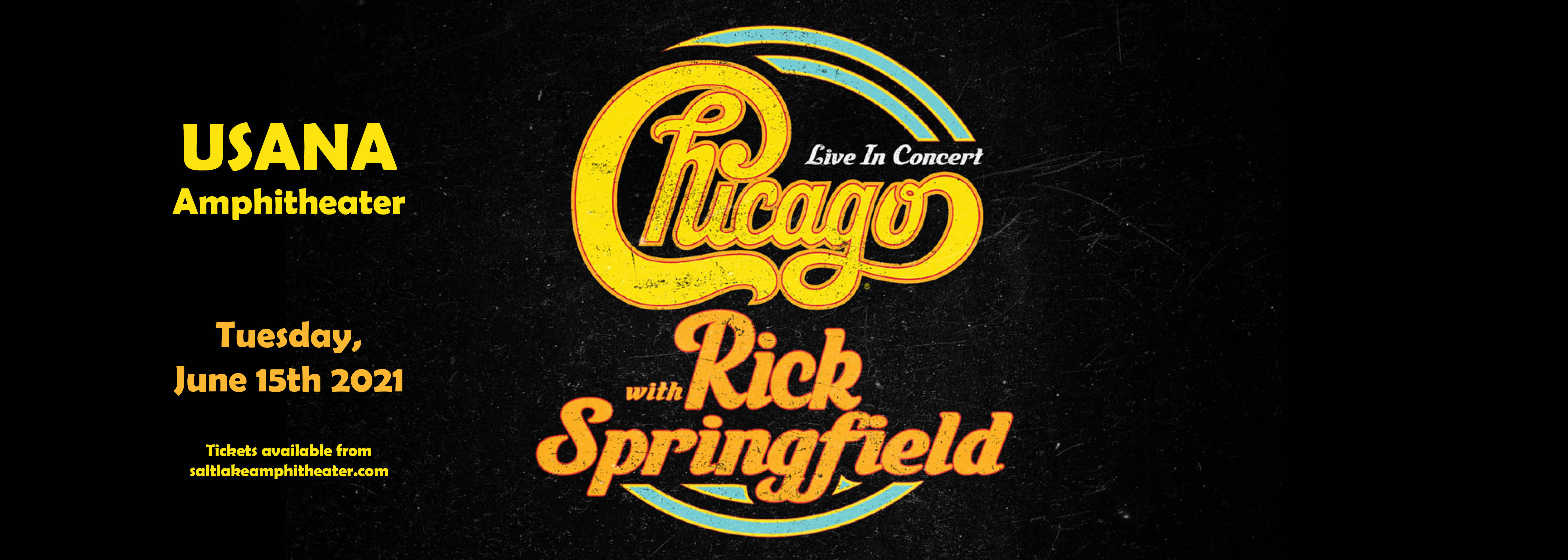 Chicago - The Band & Rick Springfield [CANCELLED] at USANA Amphitheater