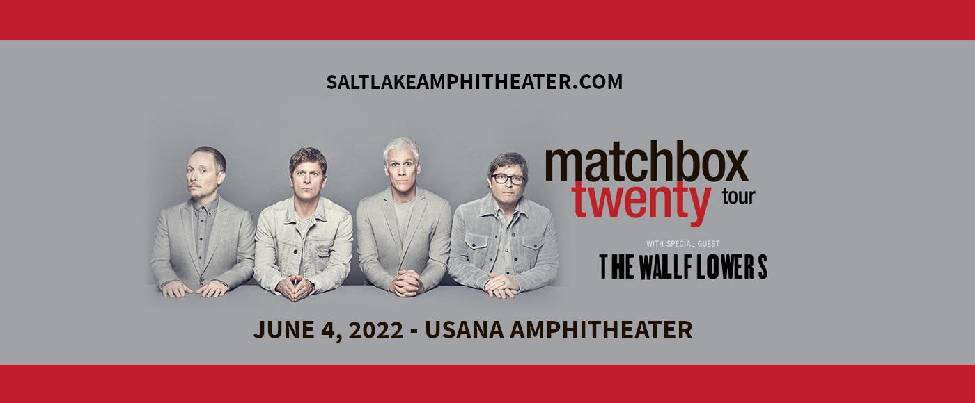 Matchbox Twenty & The Wallflowers at USANA Amphitheater