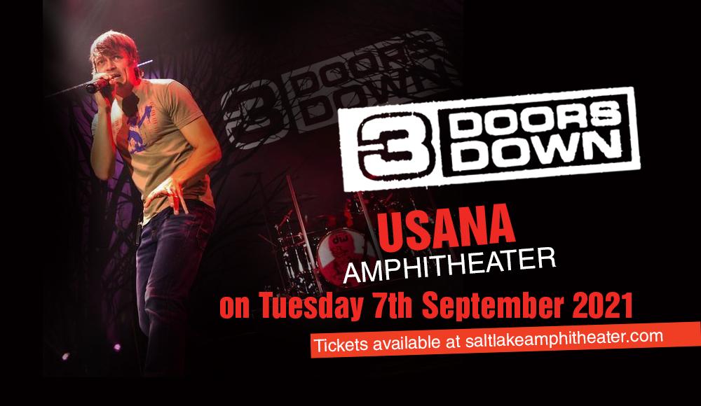 3 Doors Down at USANA Amphitheater