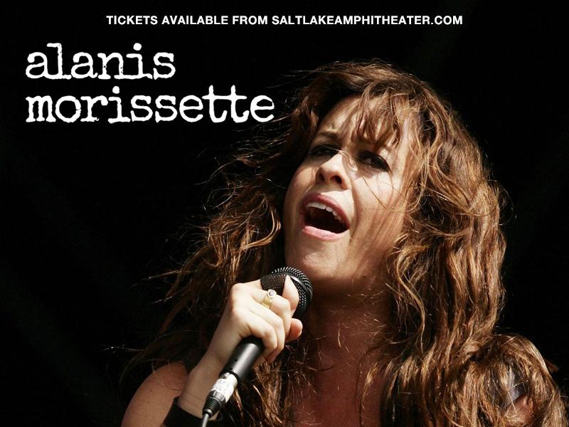 Alanis Morissette at USANA Amphitheater